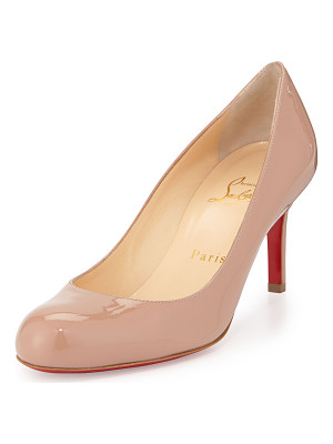 Christian Louboutin Simple Patent Red Sole Pump