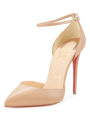Christian Louboutin Uptown d'Orsay 100mm Red Sole Pump