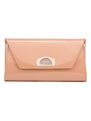 Christian Louboutin Vero Dodat Classic Leather Clutch Bag