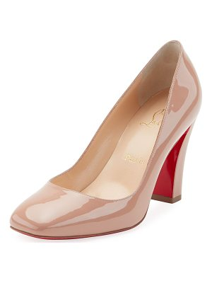 CHRISTIAN LOUBOUTIN Viva Patent Red Sole Pump