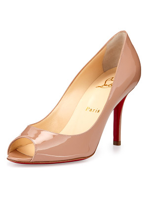 Christian Louboutin Youyou Patent 85mm Red Sole Pump