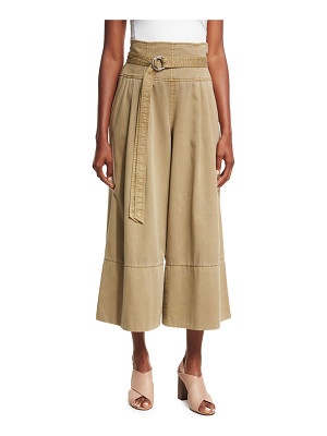 CINQ A SEPT Sandy High-Waist Gaucho Pants
