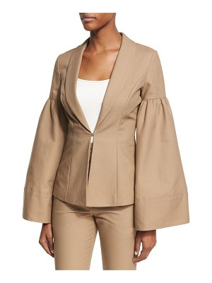 CO. Bell-Sleeve Shawl-Collar Jacket