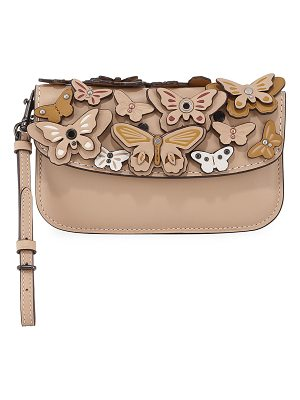 COACH Butterfly Large Wristlet Clutch Bag