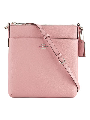 COACH Courier Leather Crossbody Bag