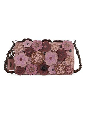 COACH Dinky Tea Rose Crossbody Bag