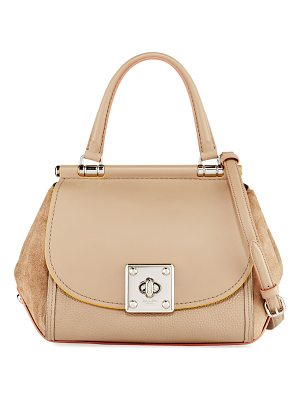 COACH Drifter Mixed Leather Top-Handle Bag