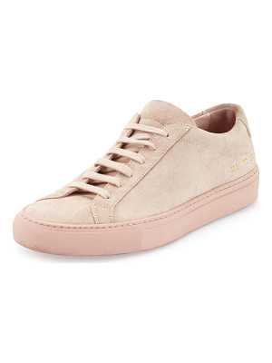 COMMON PROJECTS Achilles Suede Low-Top Sneaker
