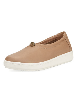Eileen Fisher Sydney Pull-Tab Leather Sneaker