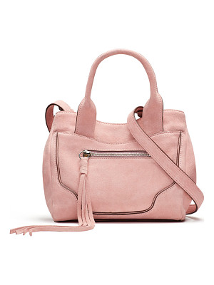 ELIZABETH AND JAMES Andie Mini Suede Satchel Bag