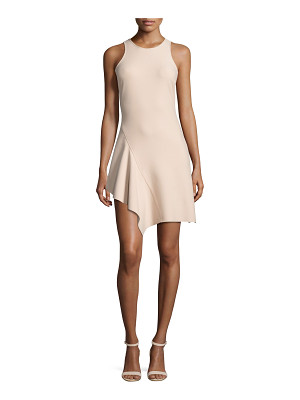 Elizabeth and James Hattie Asymmetric Racerback Ponte Dress