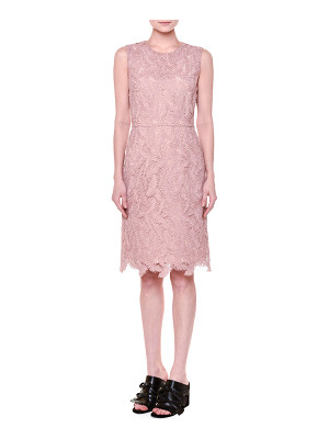 Emilio Pucci Sleeveless Feather-Macrame Dress