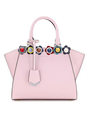 Fendi 3Jours Mini Floral-Stud Tote Bag