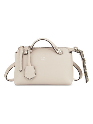 FENDI By The Way Mini Crystal-Croc-Tail Satchel Bag