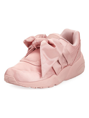 FENTY PUMA BY RIHANNA Trinomic Knotted Bow Satin Sneaker