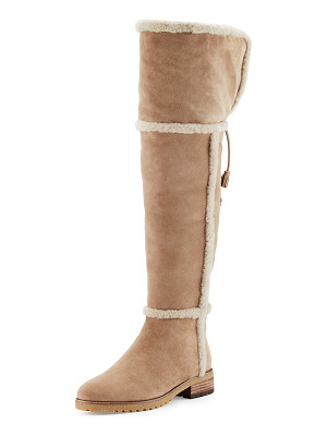 FRYE Tamara Shearling Over-The-Knee Boot