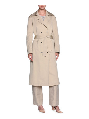 Giorgio Armani Double-Breasted Belted Trenchcoat