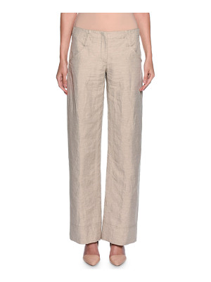 GIORGIO ARMANI Relaxed Logo-Pocket Pants