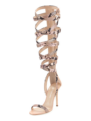 GIUSEPPE ZANOTTI FOR JENNIFER LOPEZ Emme 105mm Gladiator Sandal