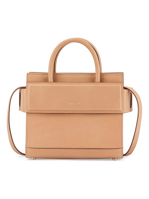GIVENCHY Horizon Mini Leather Satchel Bag