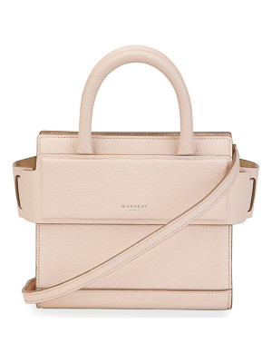 GIVENCHY Horizon Nano Grained Leather Satchel Bag