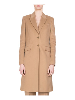 Givenchy Wool-Cashmere Classic Coat