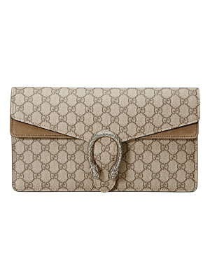 GUCCI Dionysus Gg Supreme Small Clutch Bag