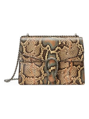 GUCCI Dionysus Medium Python Shoulder Bag