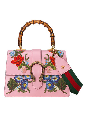 Gucci Dionysus Small Embroidered Floral Satchel Bag