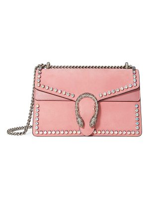 Gucci Dionysus Small Suede Shoulder Bag with Crystals