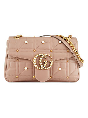 GUCCI Gg Marmont Medium Pearly Shoulder Bag