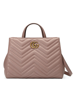 GUCCI Gg Marmont Small Matelassé Top-Handle Bag