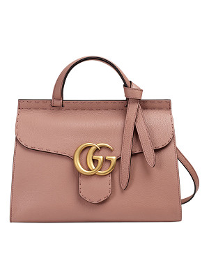 GUCCI Gg Marmont Small Top-Handle Satchel Bag