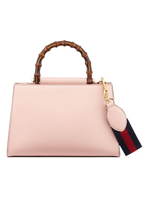 GUCCI Nymphea Small Bamboo-Handle Tote Bag