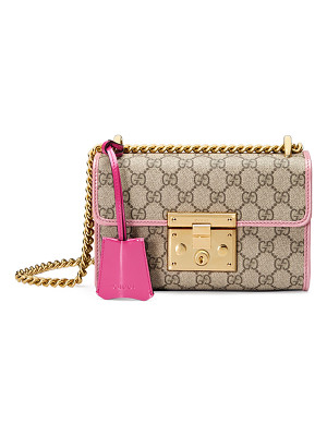 GUCCI Padlock Small Gg Supreme Shoulder Bag