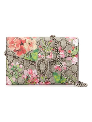 GUCCI Gg Blooms Dionysus Wallet On A Chain