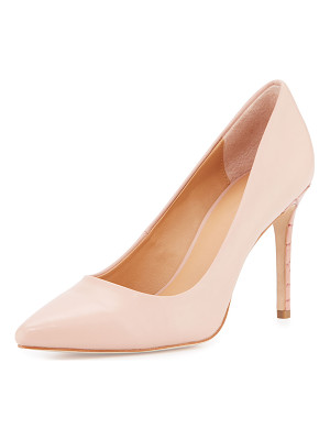 Halston Heritage Courtney Pointed-Toe Leather Pump