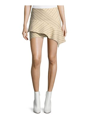 Isabel Marant Kimura Pinstriped Flannel Mini Skirt