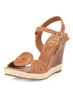 JACK ROGERS Clare Rope Wedge Sandal