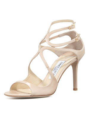 Jimmy Choo Ivette Strappy Patent Sandals