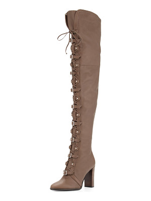Jimmy Choo Maloy Leather 95mm Over-the-Knee Boot