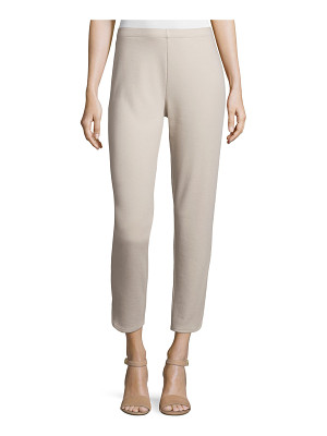 Joan Vass Ponte Ankle Pants