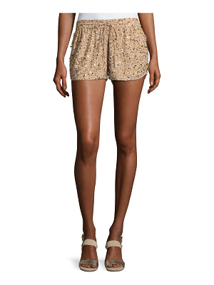 JOIE Joselle Sequin Drawstring Shorts