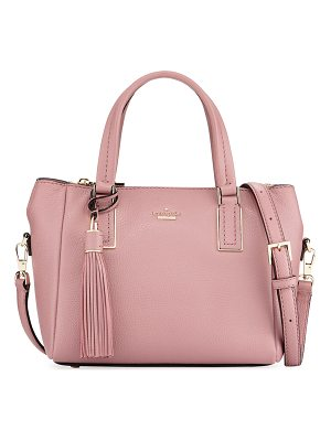 KATE SPADE NEW YORK Alena Small Pebbled Satchel Bag