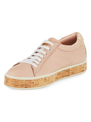 KATE SPADE NEW YORK Amy Cork Embellished Sneaker