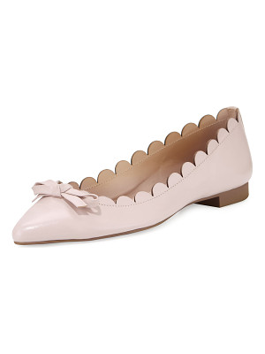 KATE SPADE NEW YORK Eleni Flex Scalloped Ballerina Flat