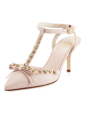 KATE SPADE NEW YORK Julianna T-Strap Bow Pump