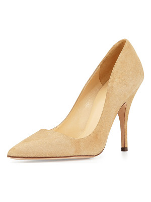Kate Spade New York licorice suede point-toe pumps