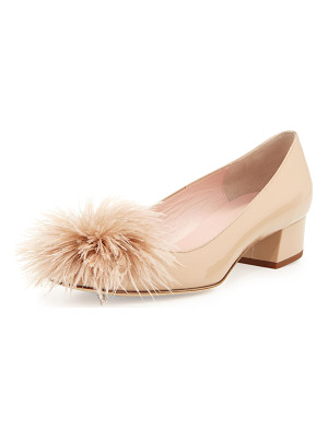 KATE SPADE NEW YORK Melinda Patent Feather Pump