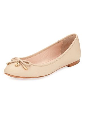 KATE SPADE NEW YORK Willa Classic Leather Ballerina Flat